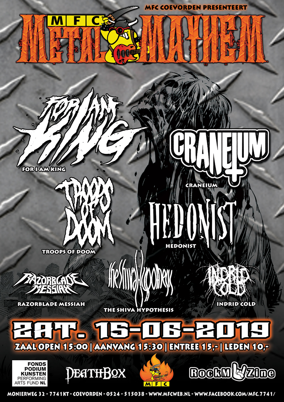 MFC's Metal MAY-HEM 2019