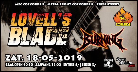 Concert@MFC Lovell's Blade + Burning