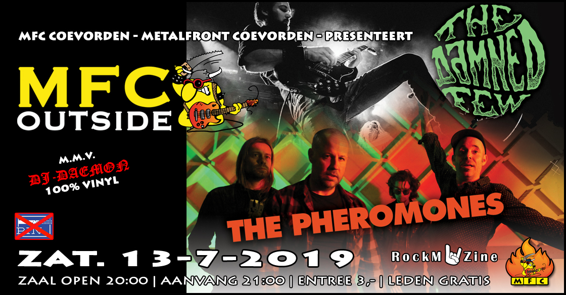 MFC OUTSIDE 2019: The Pheromones + The Damned Few