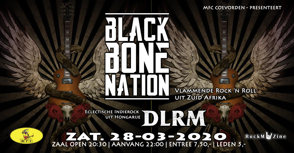 Concert@MFC: Black Bone Nation (ZA) + DLRM (HU)