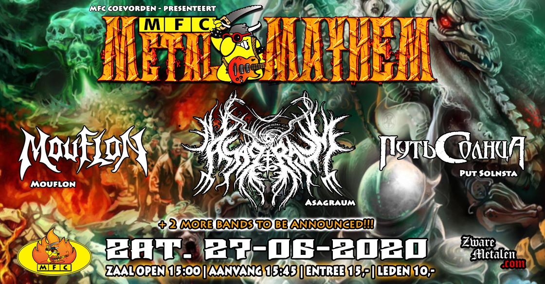 MFC's Metal Mayhem 2020