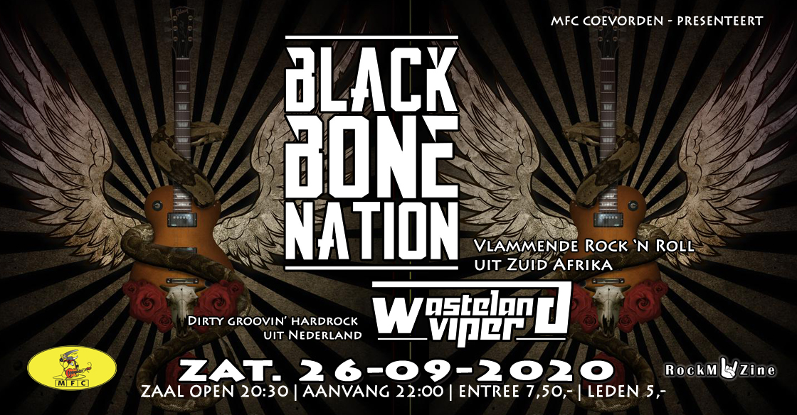 Concert@MFC: Black Bone Nation + Wasteland Viper