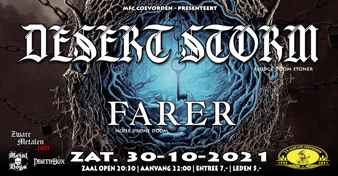 Concert@MFC: Desert Storm (UK) + Farer