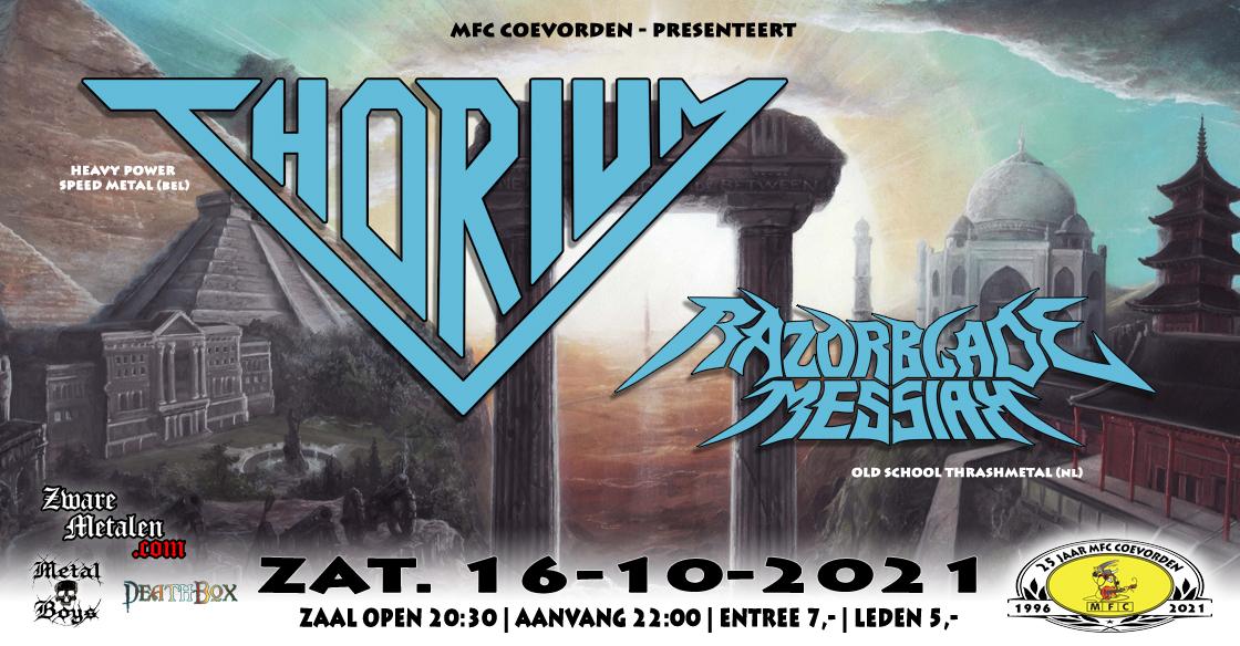 Concert@MFC: Thorium (BEL) + Razorblade Messiah